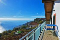 Apartment in Italy, Furore: 01 Aurora balcony with sea view