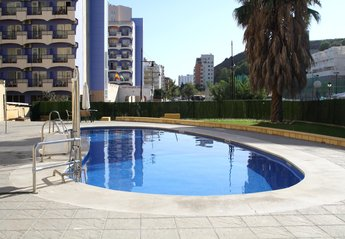 Apartment in Spain, Carvajal: Pool Area