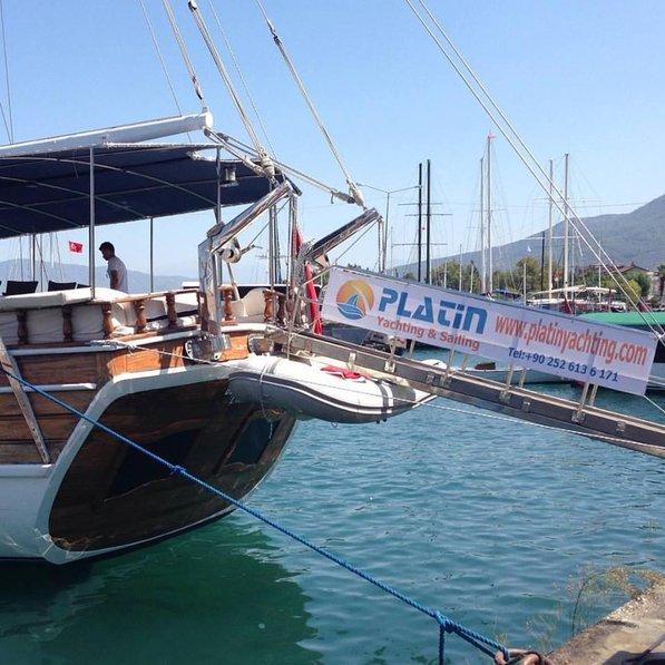 Boat in Turkey, Fethiye Town