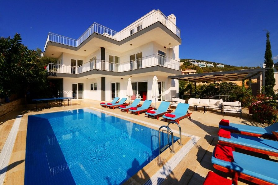 Villa To Rent In Kalkan Turkey With Private Pool 185637
