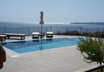 Villa in Greece, Lourdas: Villa Odysseus private pool
