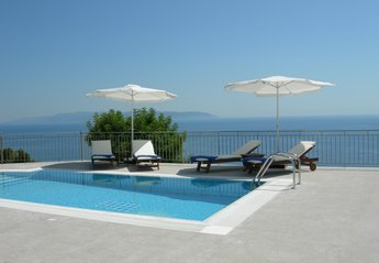 Villa in Greece, Lourdas: Villa Penelope private pool