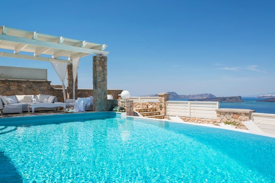 Villa in Greece, Akrotiri