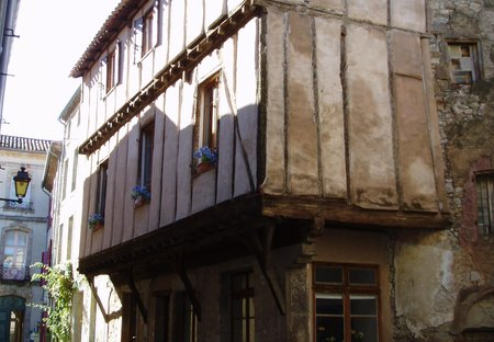 House in Lagrasse, the South of France: OLYMPUS DIGITAL CAMERA