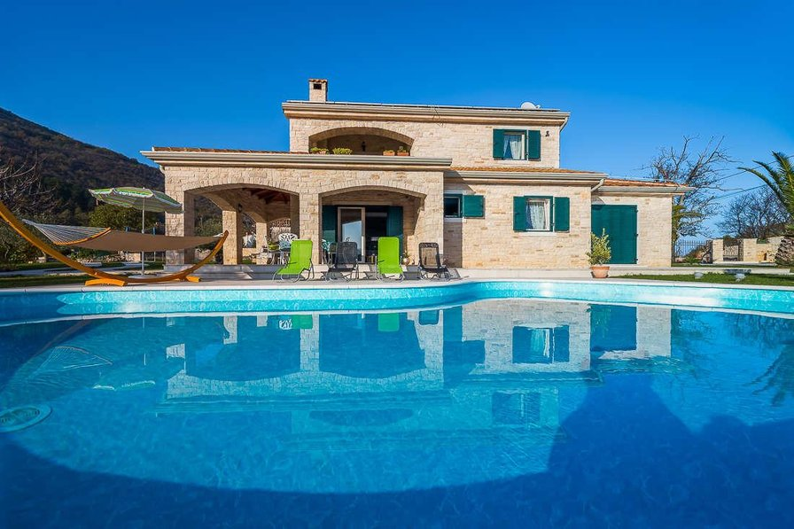 Villa in Croatia, Moscenicka draga