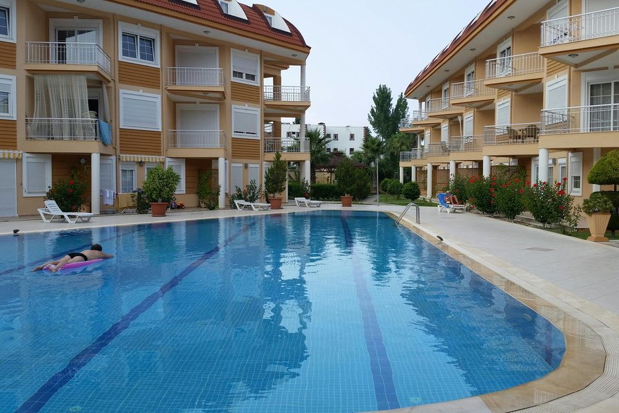 Apartment with wi-fi in the Kompleks in the center of Kemer
