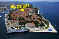 Apartment in Croatia, Zadar: Here we are!!!
