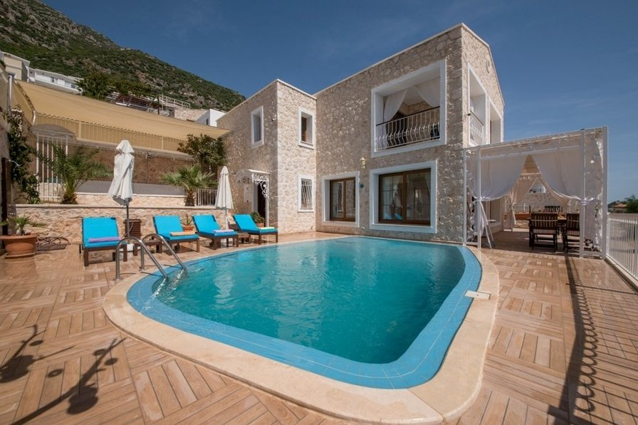Villa To Rent In Kalkan Turkey With Private Pool 186173