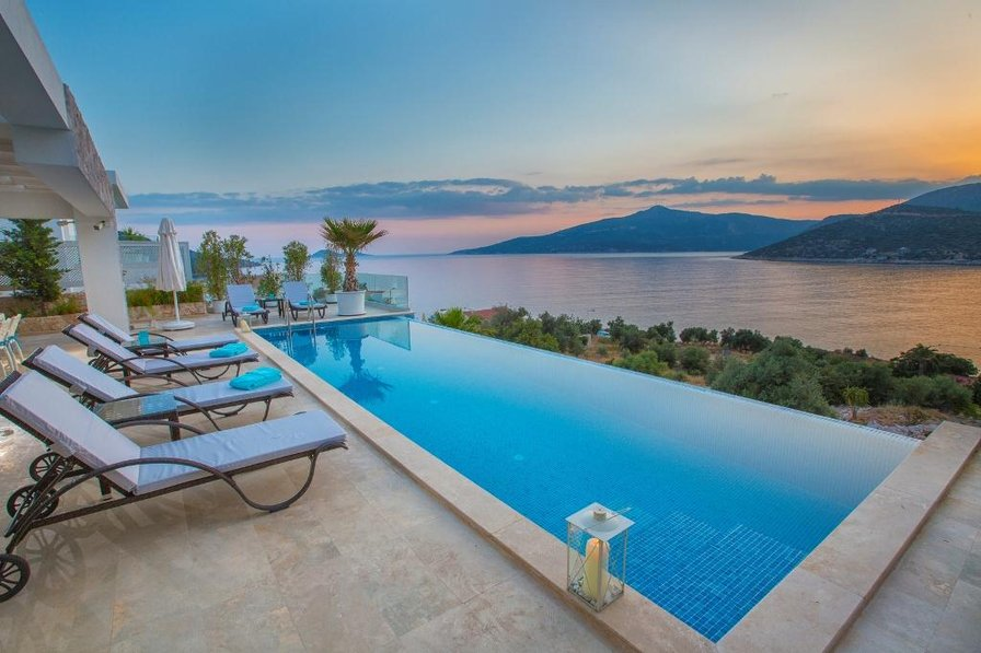 Villa To Rent In Kalkan Turkey With Private Pool 186208