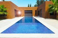 Villa in Morocco, Taseltant: Architectural simplicity