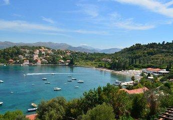 Villa in Croatia, Kolocep: Gorgeous views over Kolocep Bay