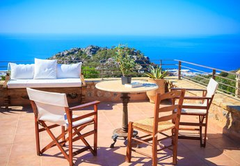 House in Greece, Ierapetra: TOP TERRACE 3rd LEVEL
