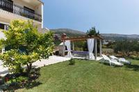 Apartment in Croatia, Podstrana: nice area where you can enjoy with bbq, or just lie lazily on the..