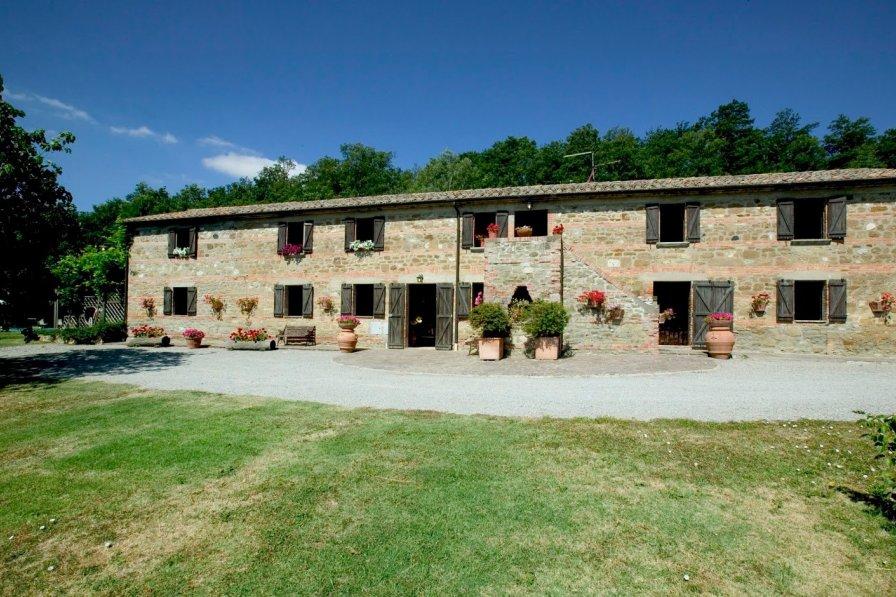 House in Italy, Radicofani