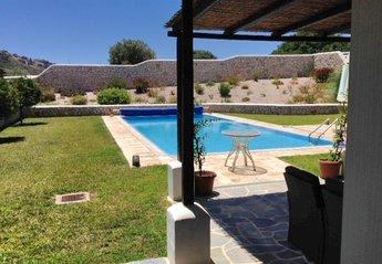 Villa in Greece, Ladiko: the pool