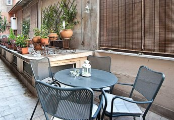 Apartment in Italy, Rome centre: Terrace