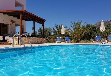 Villa in Almirida, Crete