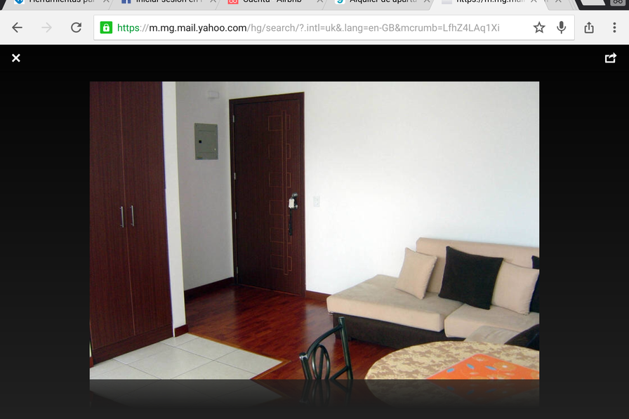 Quito flat to rent