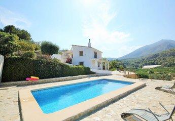 Villa in Spain, Bolulla: Viilla and Pool