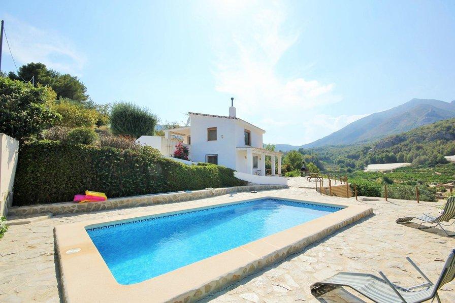 Villa in Spain, Bolulla