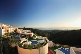 3 bed apartment luxury resort Marbella with heated pool and gym