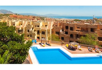 Apartment in Spain, La Duquesa Golf & Country Club: Our terrace overlooks this pool which less tha..