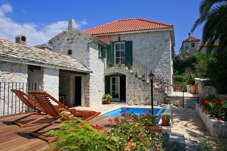 Villa in Croatia, Island of Brac