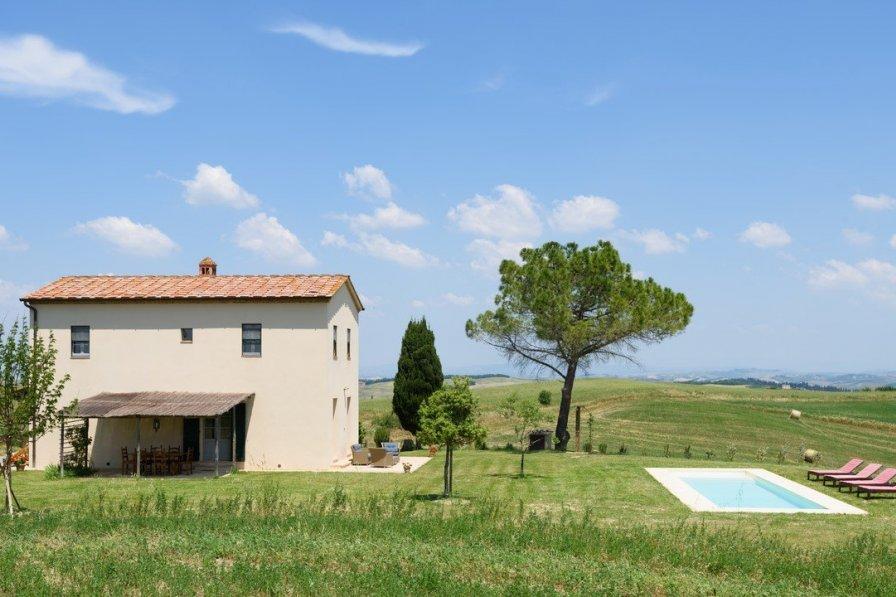 House in Italy, Buonconvento