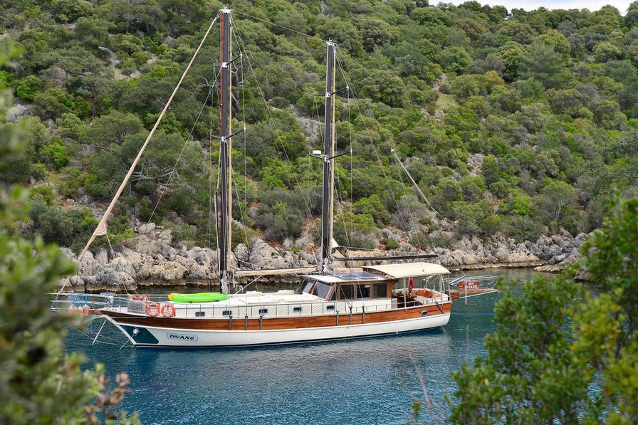 Boat in Turkey, Turkish Aegean
