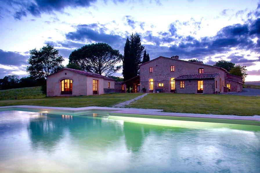 Villa in Italy, Buonconvento