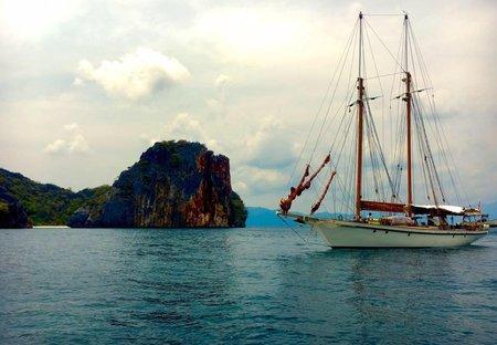 Boat in Sabah, Malaysia