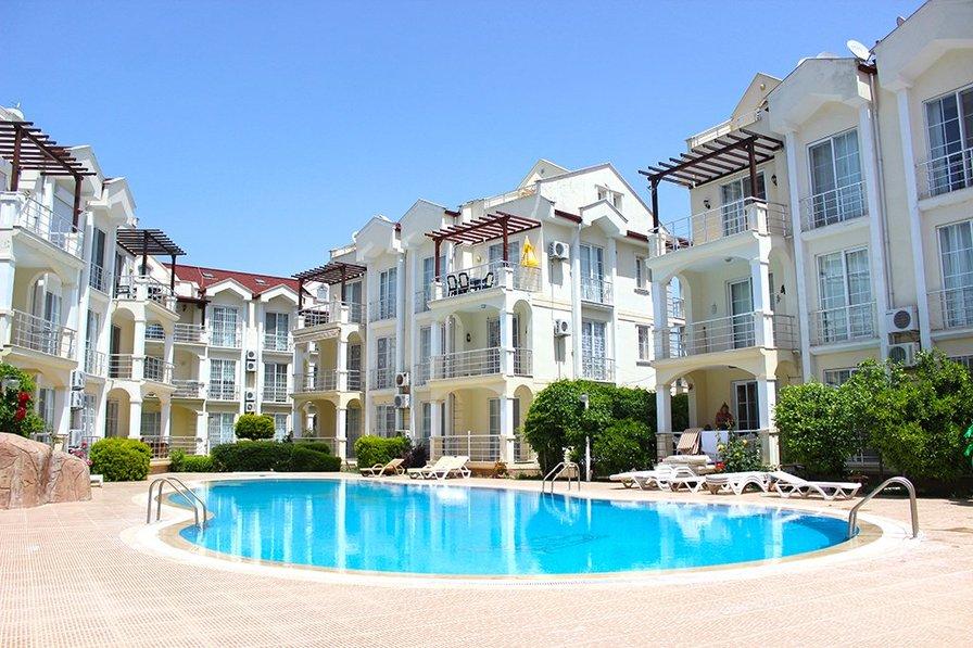 3 Bedroom Duplex Apartment E3 B for Rent in Calis Beach, Fethiye
