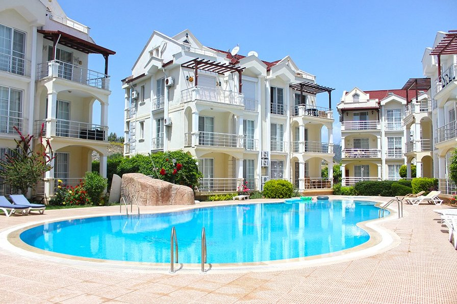 3 Bedroom Duplex Apartment E3 A for Rent in Calis Beach, Fethiye