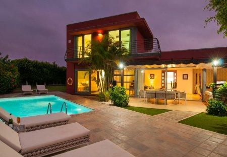 Villa in Golf Resort Salobre Sur, Gran Canaria