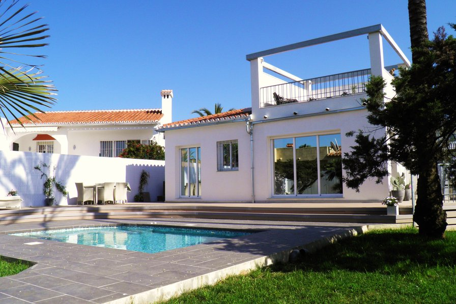 Luxury villa in the lovely and quite Marbesa