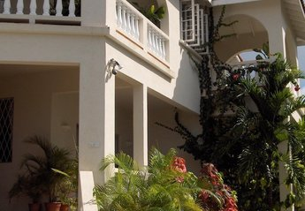Apartment in Barbados, Fitts Village: Exterior photo showing entranceway.