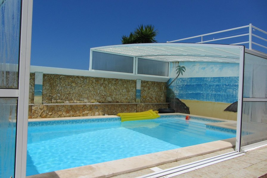 268 Great villa with sea views and private pool by Nazaré
