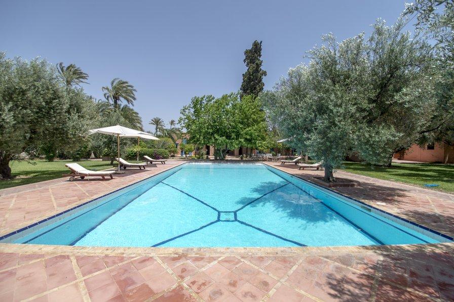 Villa in Morocco, Jardins de la Palmeraie