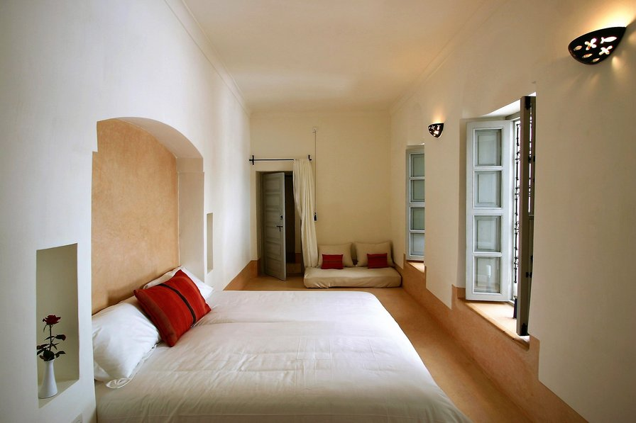 Riad Ariha , Jacaranda junior suite , Double or Twin