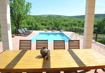 Villa in Croatia, Tijarica: Detached holiday house with swimming pool - Villa Tijara, Dalmatia