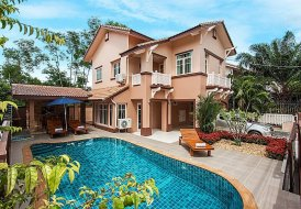 Villa To Rent In Jomtien Pattaya With Private Pool 82070