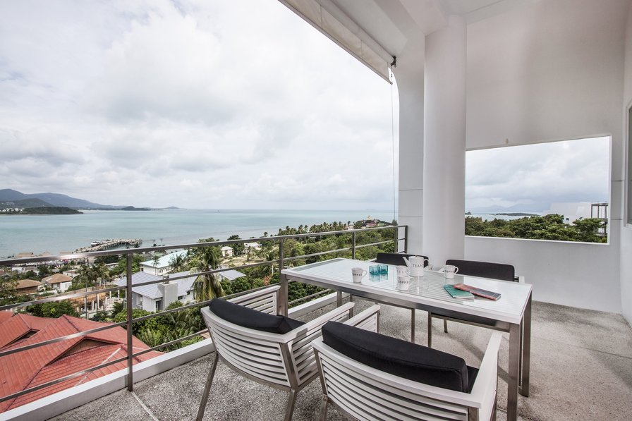 Owners abroad Bophut View Penthouse | 3 Beds with Sea View in Samui