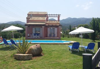 Villa in Greece, Almyros: Your lovely maisonette with the private pool.