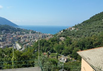 Apartment in Italy, Recco: VIew