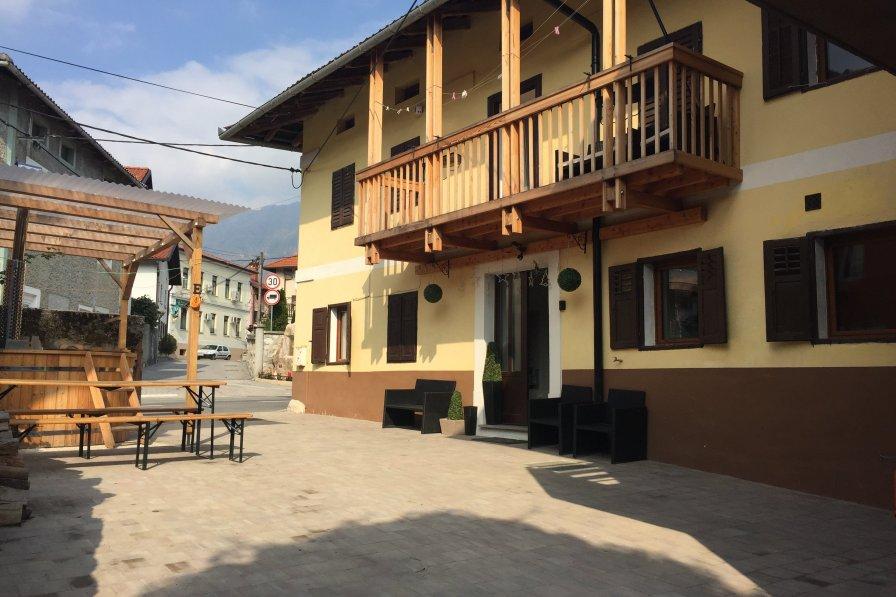 House in Slovenia, Volče