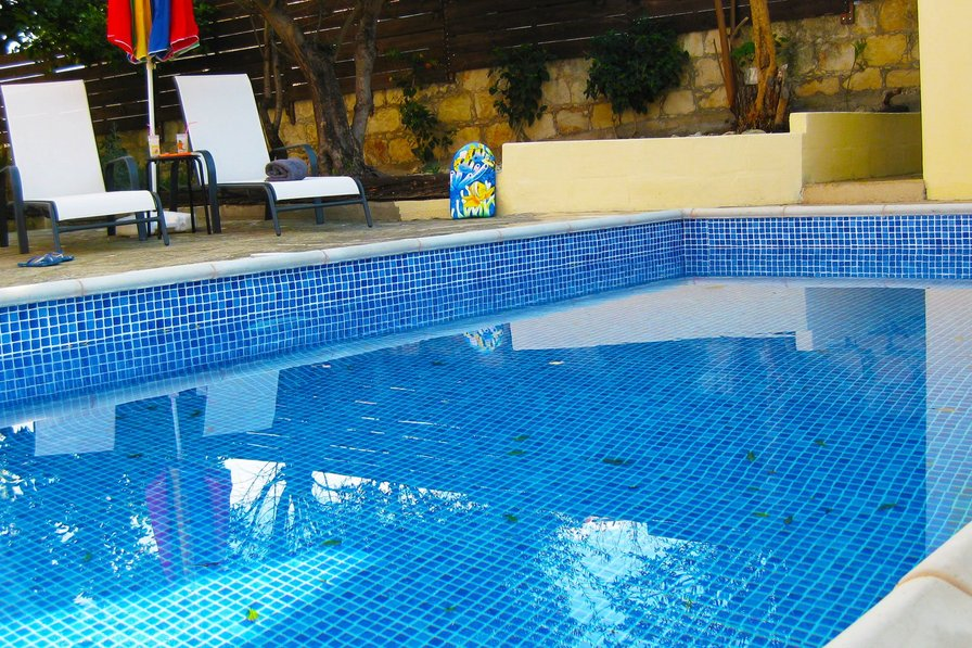 """""""Aria Holiday House"""" with a private swimming Pool in Paphos."""