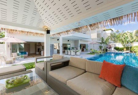 Villa in Ban Tai, Koh Samui: Pool Sala at Villa Mojito, a 5 bedroom private villa located near Ban..