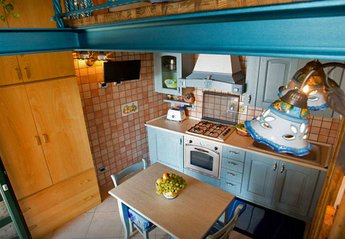 House in Italy, Scala: 01 Casa Procida living area