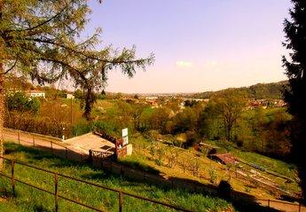 Cottage in Italy, Bergamo: Wonderful city view from veranda