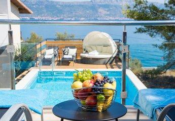 Villa in Croatia, Slatine: Villa Perla view!